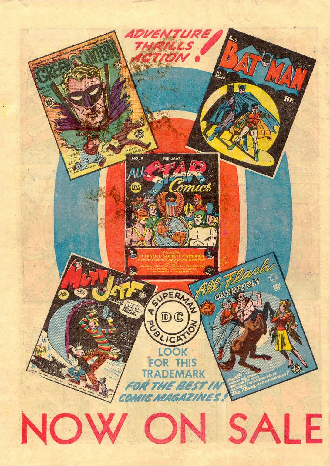 Read online Action Comics (1938) comic -  Issue #46 - 65