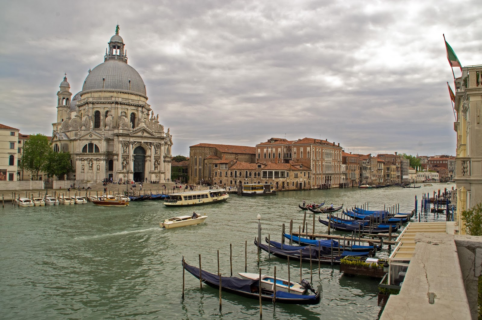 View from Westin Europa & Regina Venice of Grand Canal