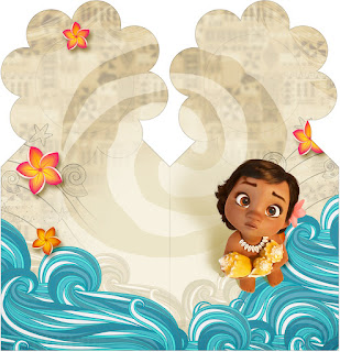 Moana Baby Free Printable Bookmarks.