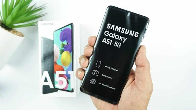 هاتف سامسونج القادم GALAXY A51S 5G بمعالج كوالكم 765G SOC و 6GB من ذاكرة الوصول العشوائى
