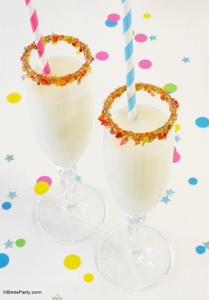 Kids Cocktail Party Ideas Part - 41: New Yearu0027s Eve DIY Confetti Inspired Party Ideas For Kids - BirdsParty.com