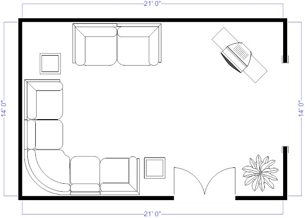Foundation dezin decor living room plan layout and tips for One level living floor plans