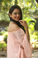 Rakul Preet Singh in lovely Pink Crop Top and Black Trousers at Jaya Janaki Nayaka success meet 032.JPG