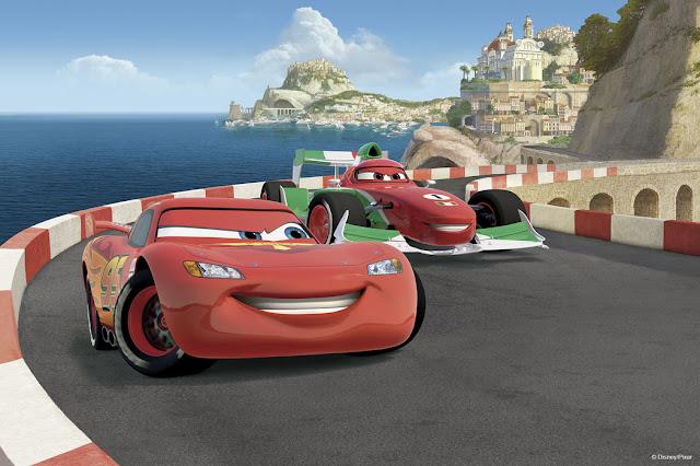 Disney tapetti Cars Valokuvatapetit