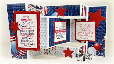 Our Daily Bread Designs Stamp Set: Justice For All, Paper Collection: Stars and Stripes, Custom Dies: Tri-Shutter Card, Tri-Shutter Layers, Pierced Rectangles, Rectangles, Pierced Squares, Squares, Sparkling Stars
