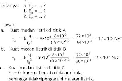 Contoh Soal Listrik Statis Kelas 12