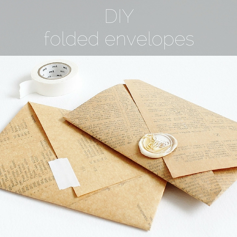 how to measure a card to make an envelope