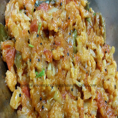 Cauliflower Tomato Curry Andhra Style How to Prepare