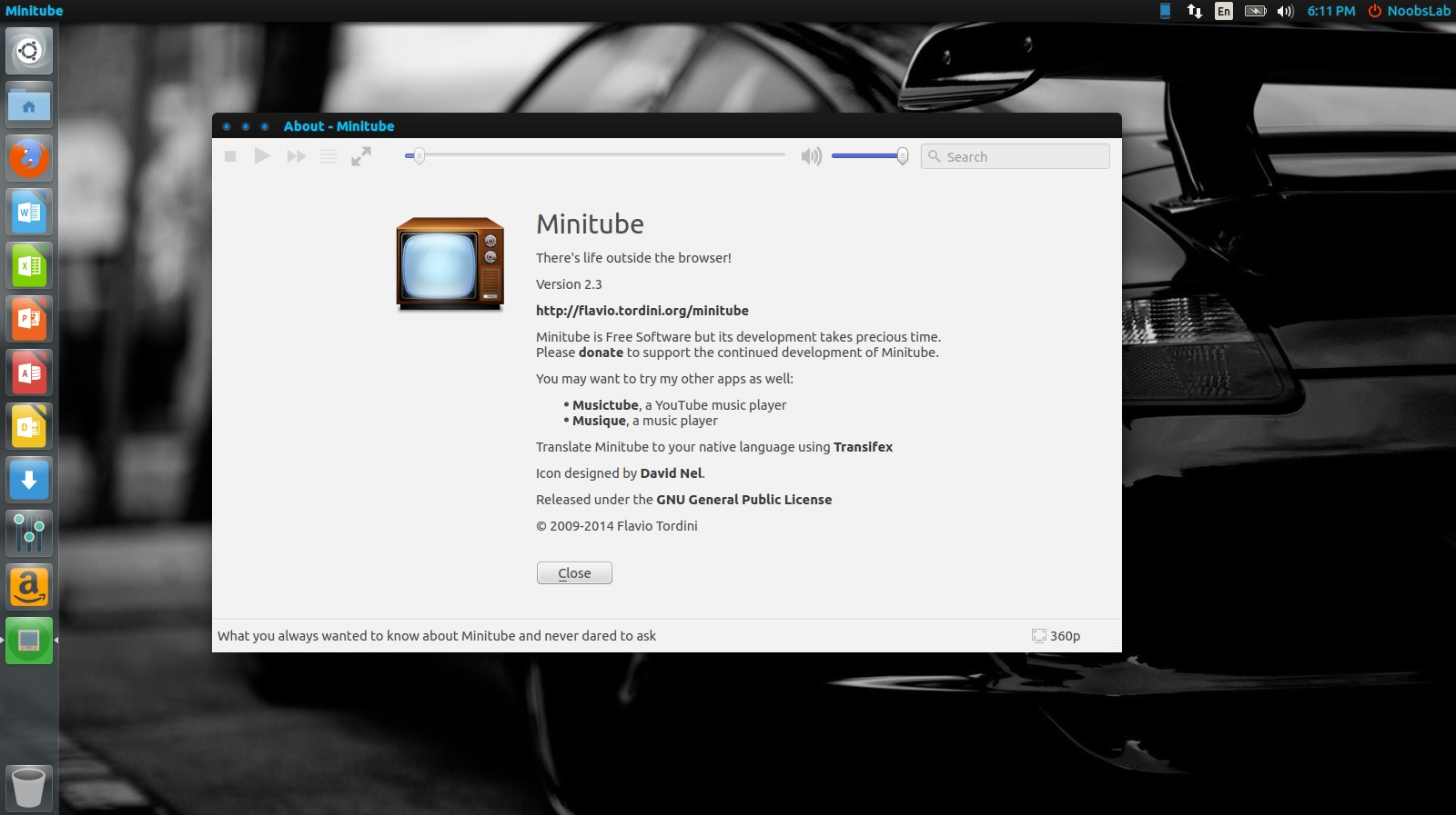 MiniTube Updated To 2 3 1 Version, Install In Ubuntu/Linux