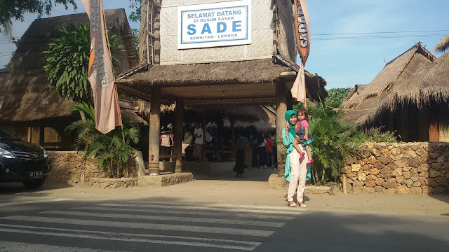 Rumah adat Suku Sasak Lombok