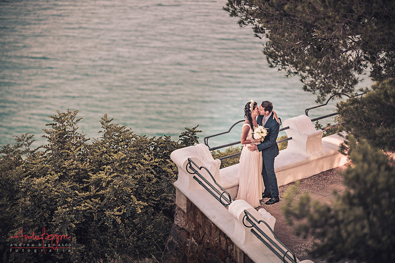 foto matrimonio Alassio mare