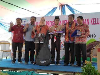 BKKBN bersama mitra kerja Komisi IX DPR RI melanjutkan sosialisasi pembangunan keluarga ke Kabupaten Tanggamus