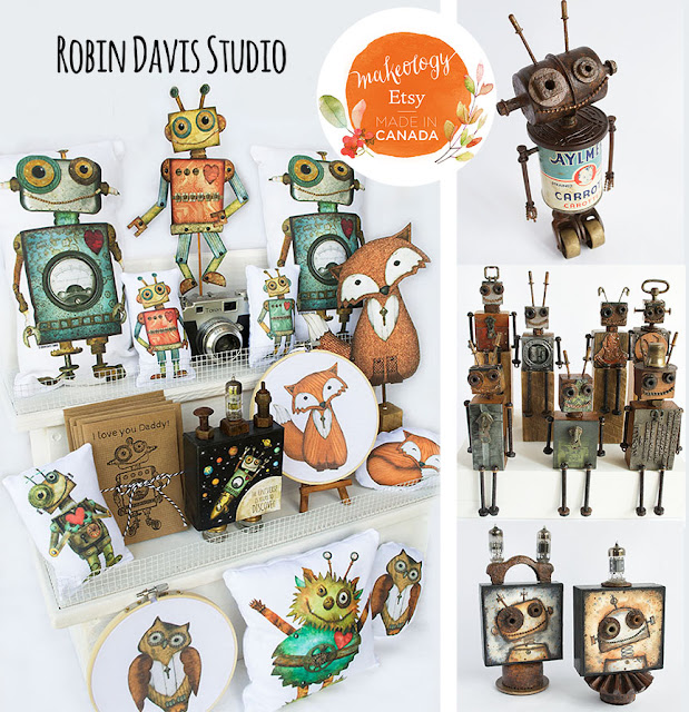 Etsy Made in Canada - Robin Davis Studio - Sept 24th 2016
