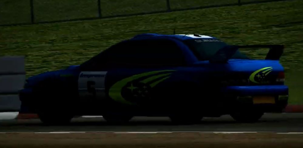 Subaru Impreza Rally Car 1999