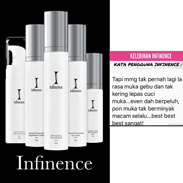 INFINENCE SKIN CARE- www.zakiahkamarudin.com