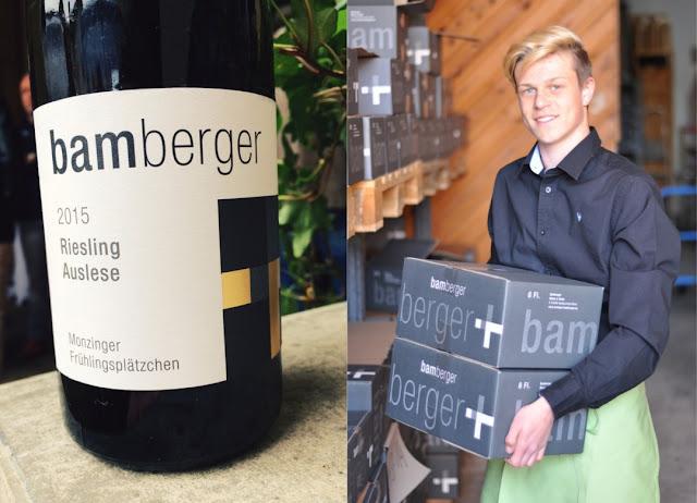 Riesling Auslese vom Wein- und Sektgut Bamberger an der Nahe
