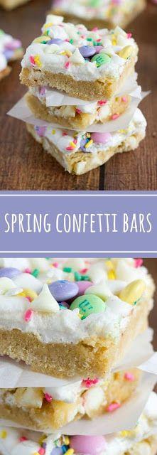 Spring Confetti Bars