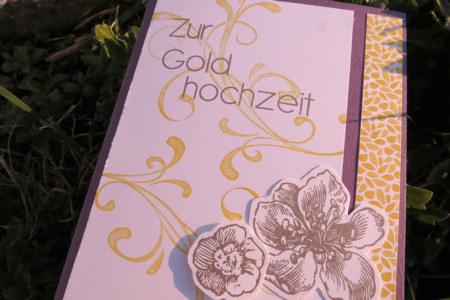 Blumen Zur Goldenen Hochzeit