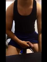 [2341] Nice boy show big cock