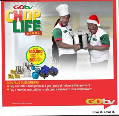 GOtv Chop Life Promo