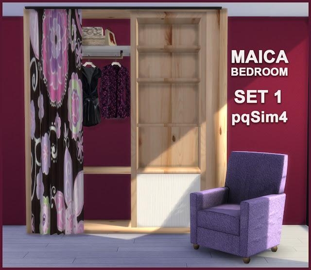 Armario y sillón Maica 3