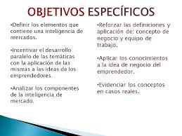 Gesti n empresarial objetivos general y objetivos especifico for Objetivo general de un vivero