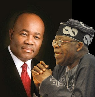 EXCLUSIVE: Akpabio, Tinubu In All Night SECRET Talks At Bourdillon