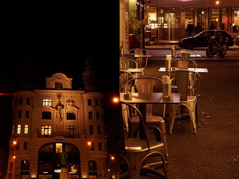 Wiener Naschmarkt am Abend