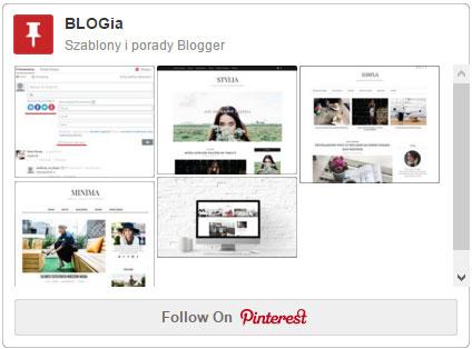 Jak dodać gadżet Pinterest: tablica i piny z tablicy