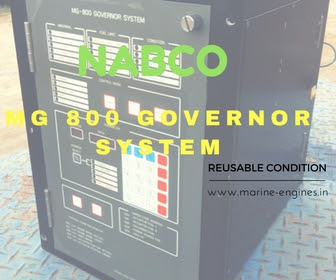 used, ship machinery, second hand, recondition, governor, for sale, complete, system