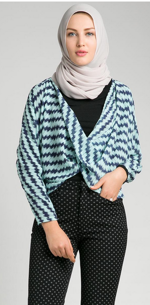 Koleksi Baju Atasan Muslim Cantik