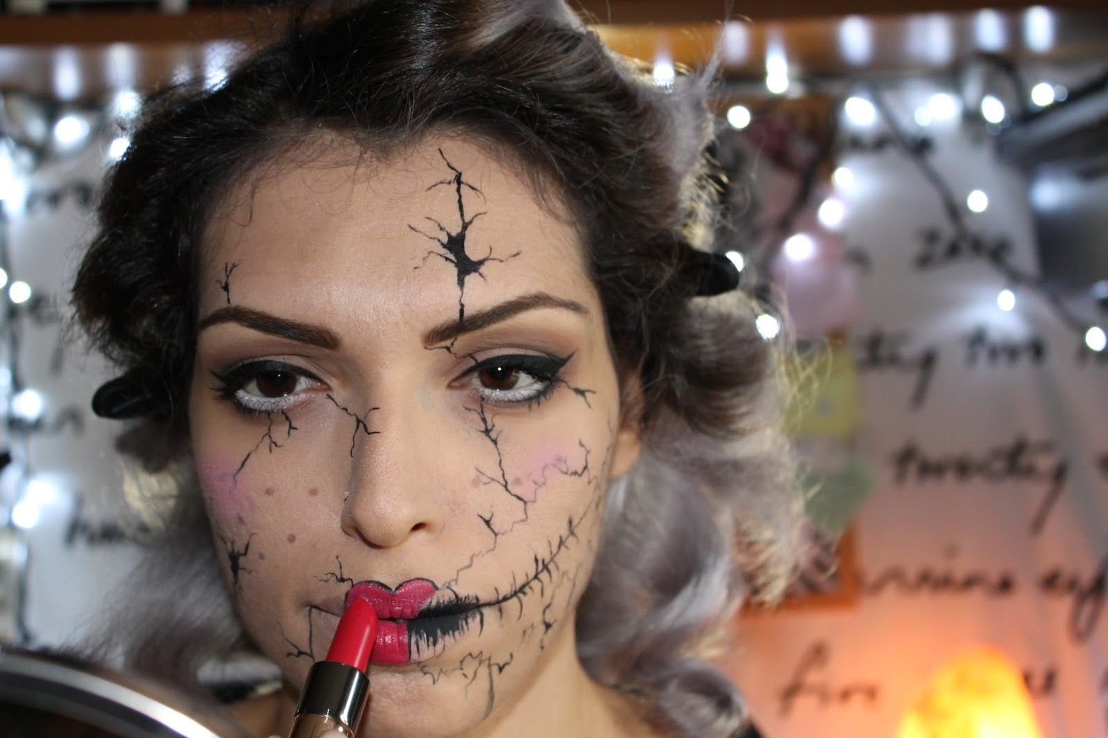 halloween makeup tutorial 3