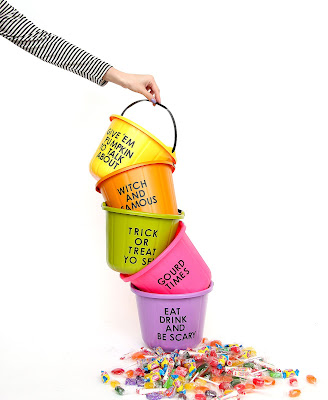 Halloween Buckets,diy projects, do it yourself projects, diy, diy crafts, diy craft ideas,