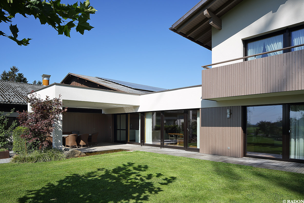 Radon photography norman radon zubau haus n for Haus architektur