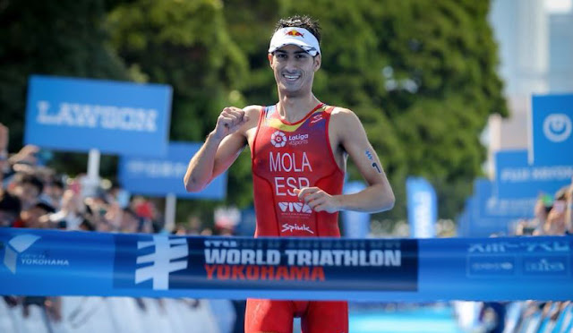 Mario Mola vence WTS Yokohama