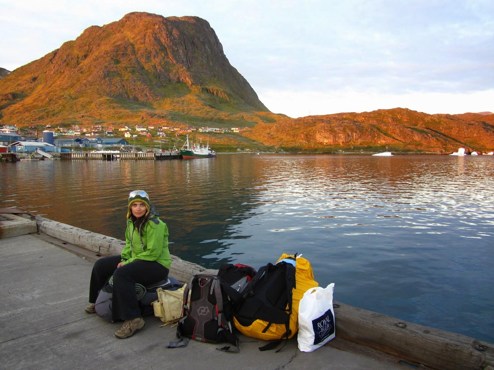A bordo do SARFAQ ITTUK -Percorrendo a costa oeste da Gronelândia de Narsaq a Nuuk - Parte I | Gronelândia