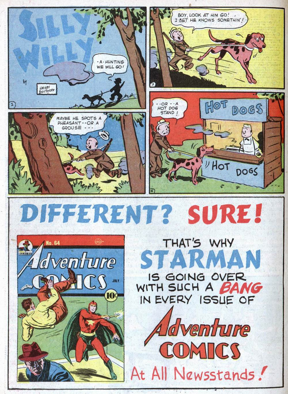 Read online Action Comics (1938) comic -  Issue #39 - 48
