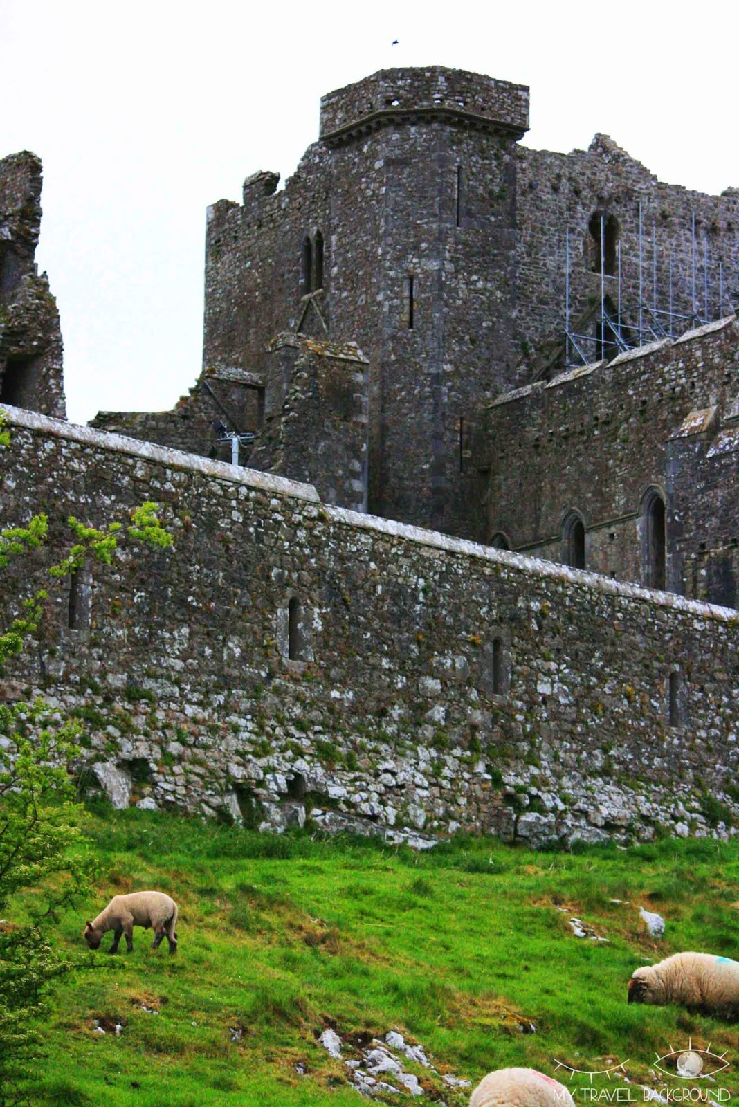 My Travel Background : les Wicklow Moutains - Rock of Cashel