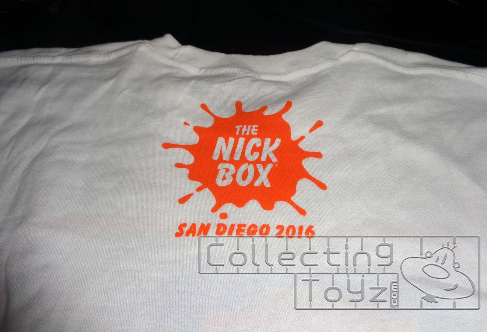 de3b0b79 ... is the bonus SDCC 2016 T-shirt that you get when purchasing The Nick  Box at SDCC. Above is the front of the shirt and below is the back of the  Shirt.