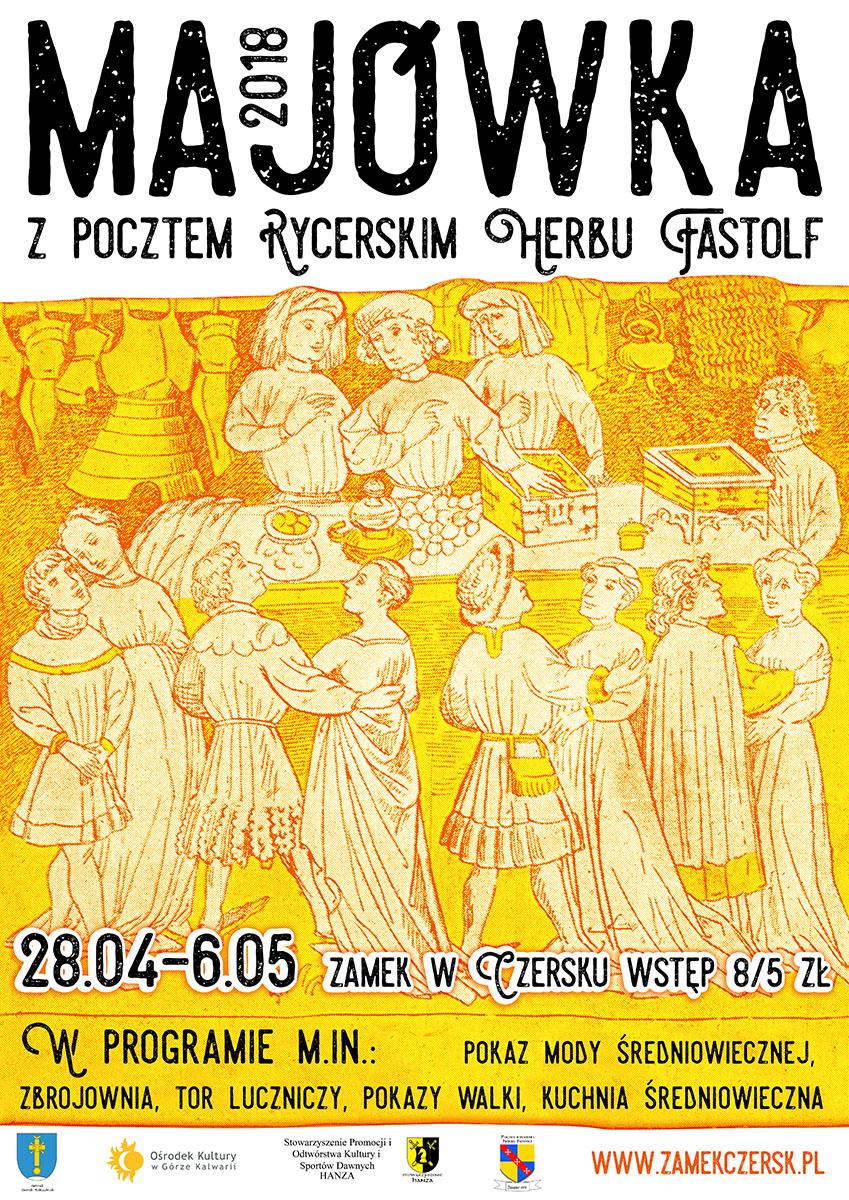 zamek czersk kalendarz imprez