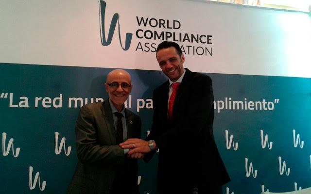 Presidente del CGPC junto al presidente de la WCA