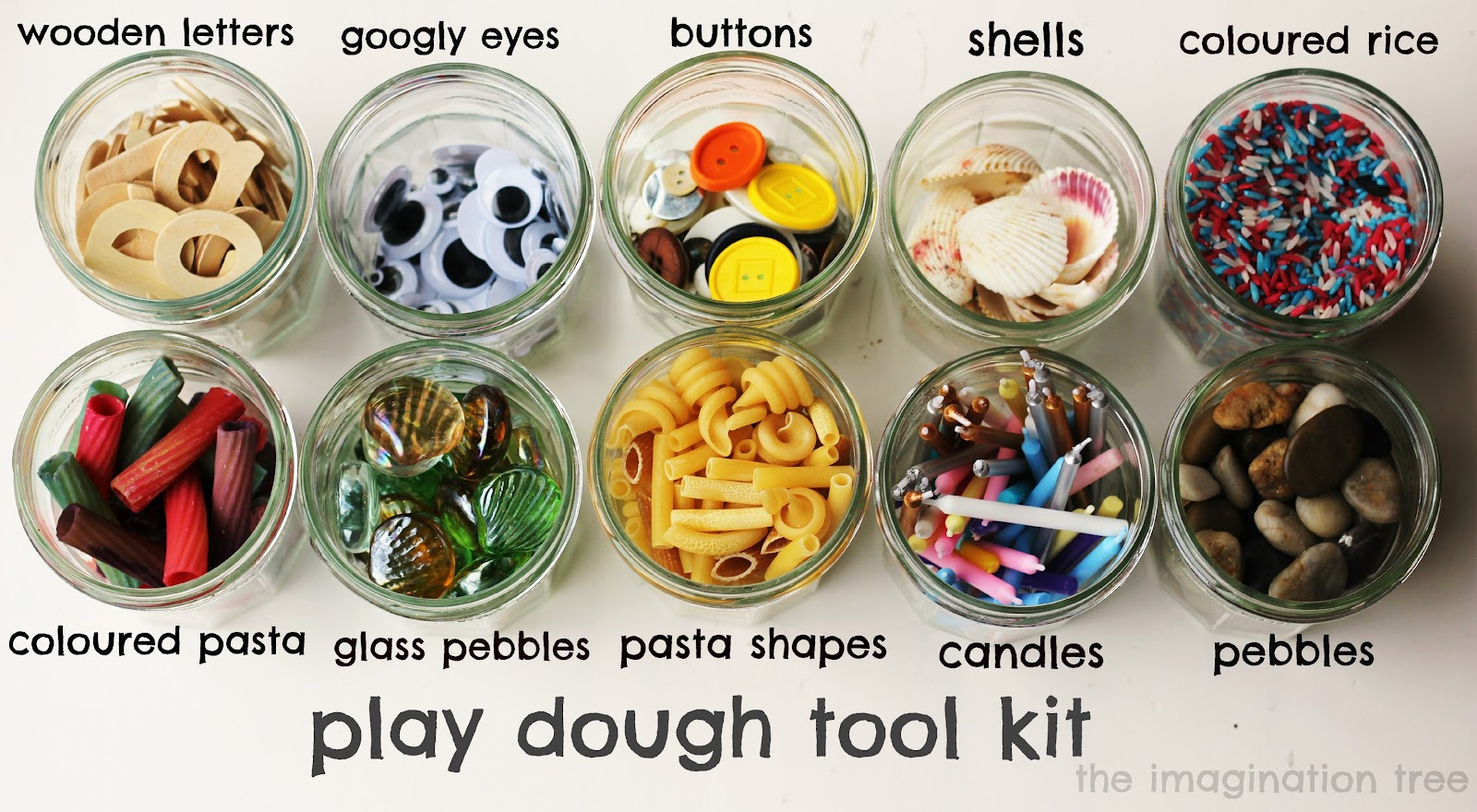 Kids Play Dough Tools Mother Day Craft Ideas For Nursery