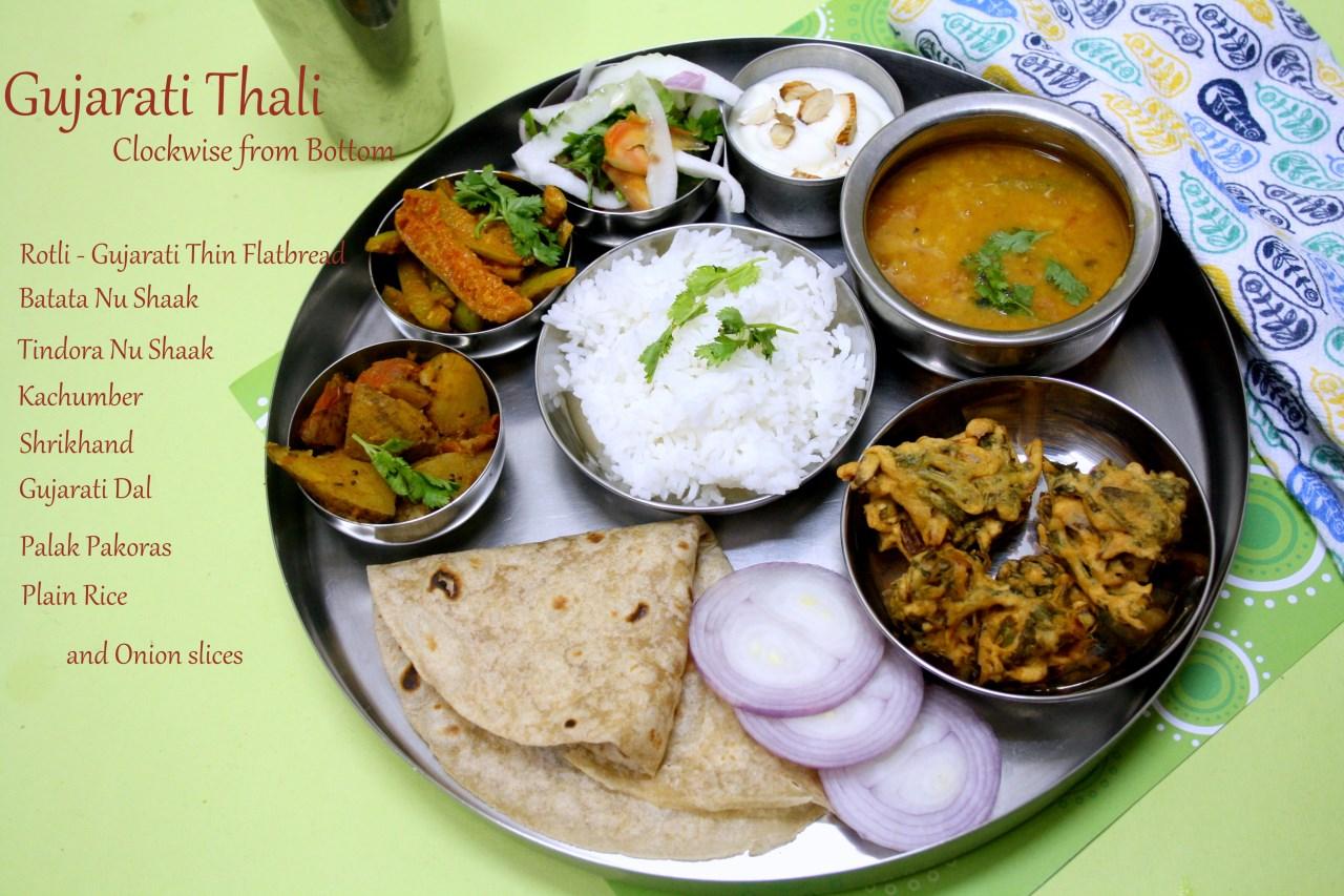 Gujarathi thali gujarati menus ideas and recipes forumfinder Choice Image