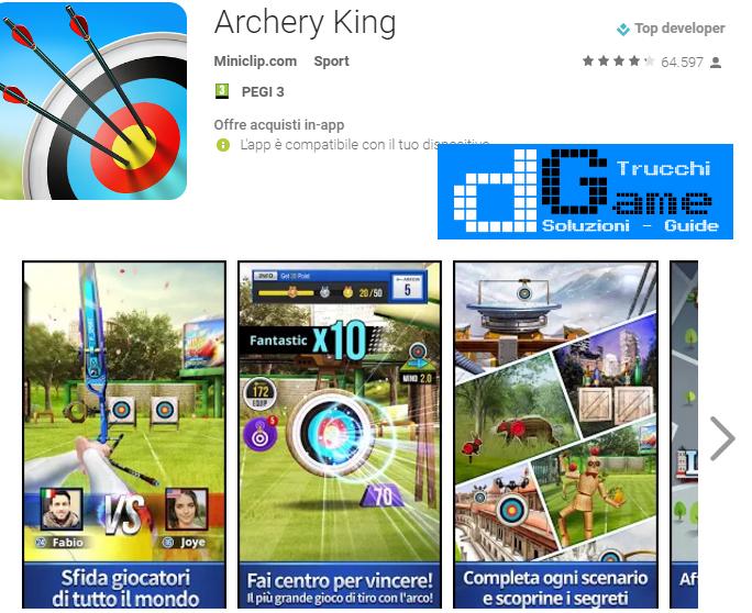 Soluzioni Archery King livello 20-29 | Trucchi e Walkthrough level