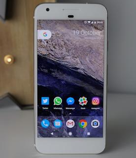 Tampilan Google Pixel