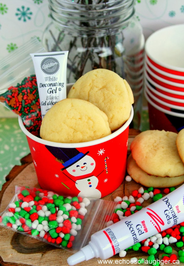 Christmas Cookie Decorating Kit In A Cup For Kids Echoes