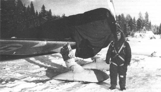 6 March 1940 worldwartwo.filminspector.com Fokker DXXI Eino Luukkanen