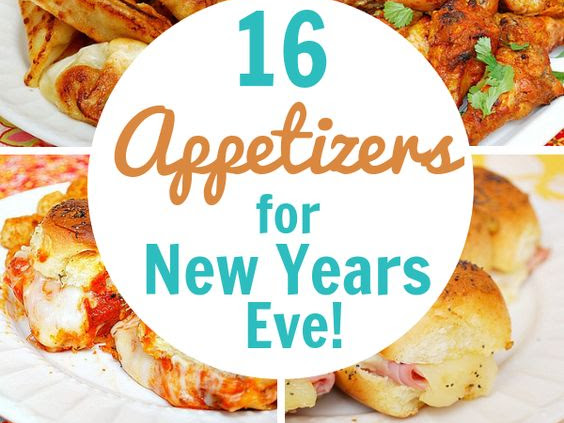 16 Appetizers for New Years Eve!