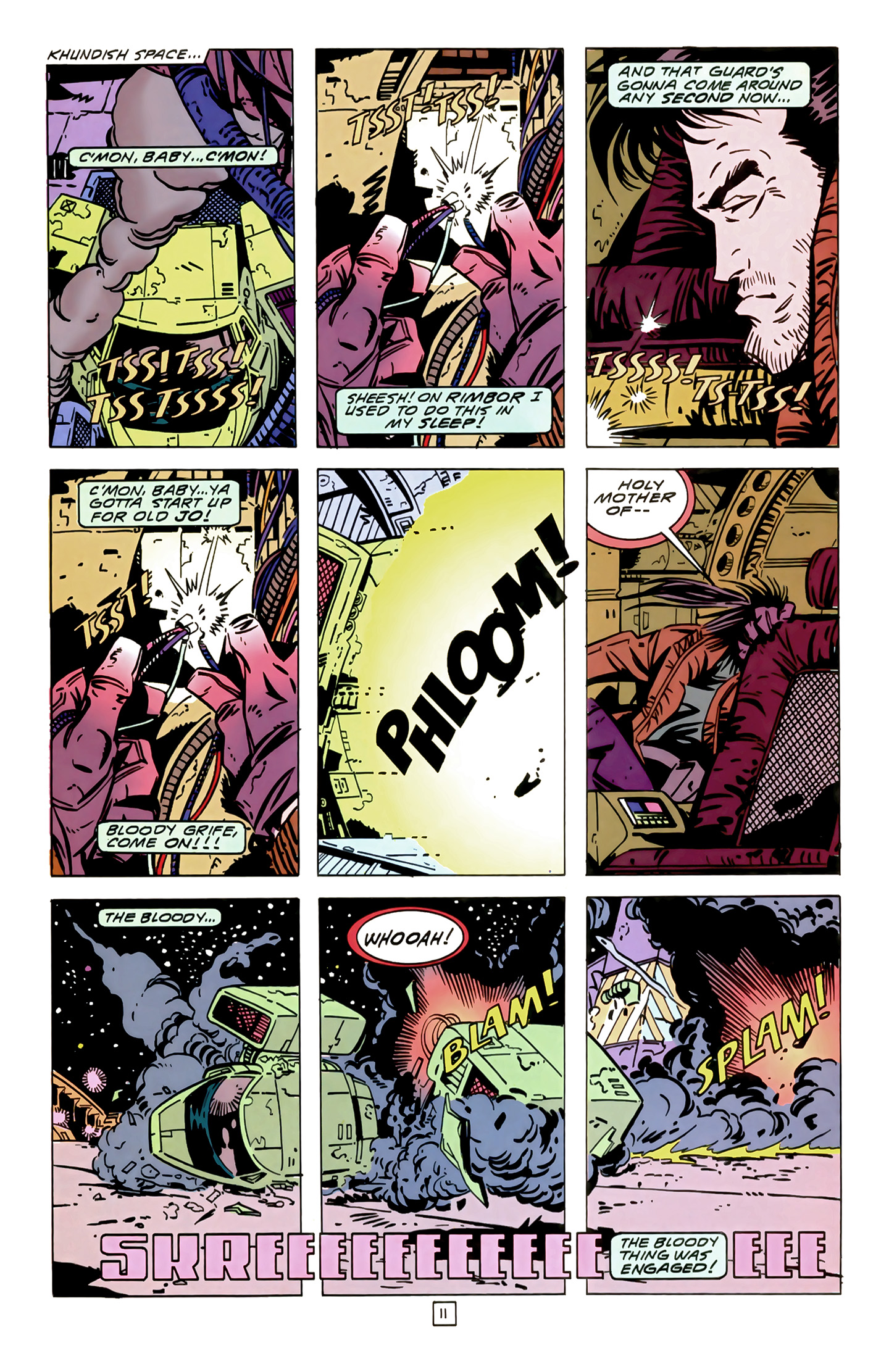 Legion of Super-Heroes (1989) 14 Page 11