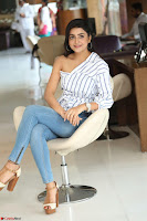 Avantika Mishra in One Shoulder Crop Top and Denim Jeggings ~  Exclusive 077.JPG